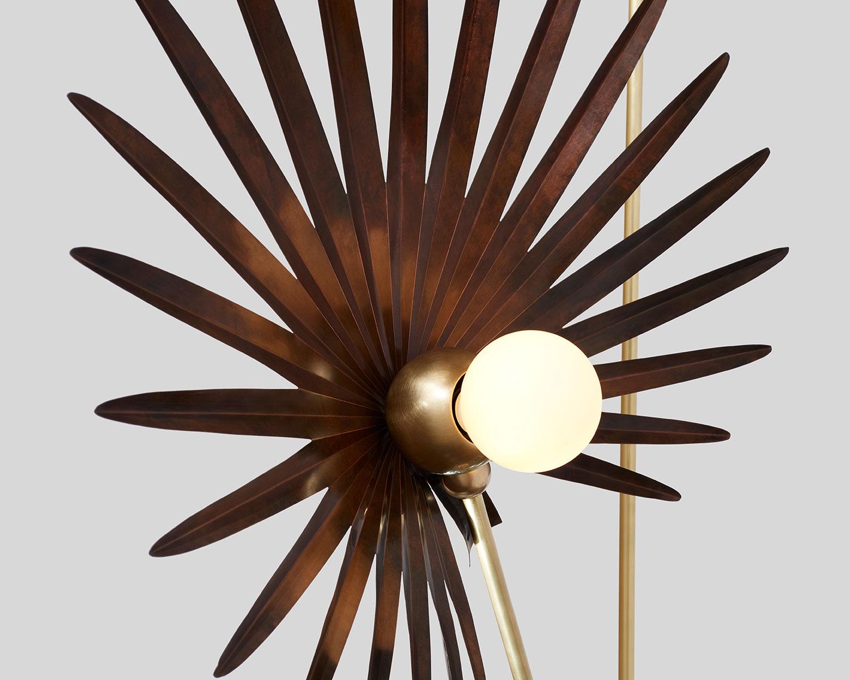 Antique copper / satin brass