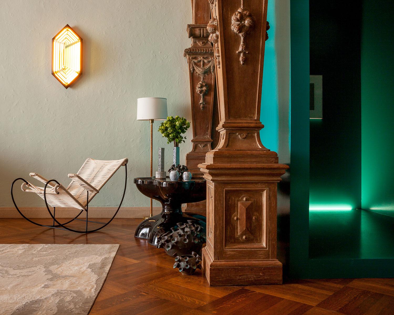 Greystone Mansion, Los Angeles — Interior design by Sara Story