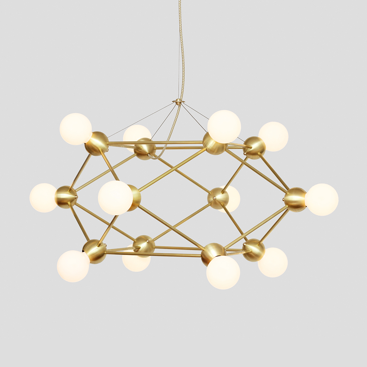 LINA 12-LIGHT LOW CHANDELIER    See Lina series