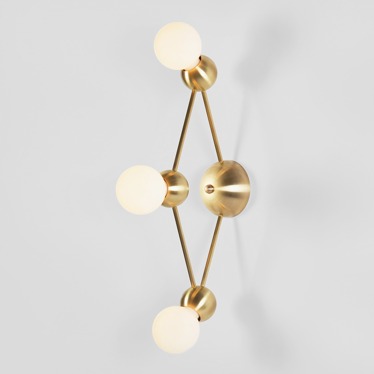 LINA 03-LIGHT DIAMOND SCONCE    See Lina series