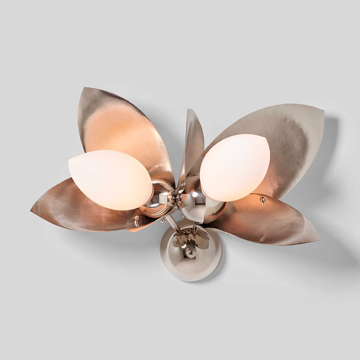 LAUREL BLOSSOM 02-LIGHT SCONCE    See Blossom series