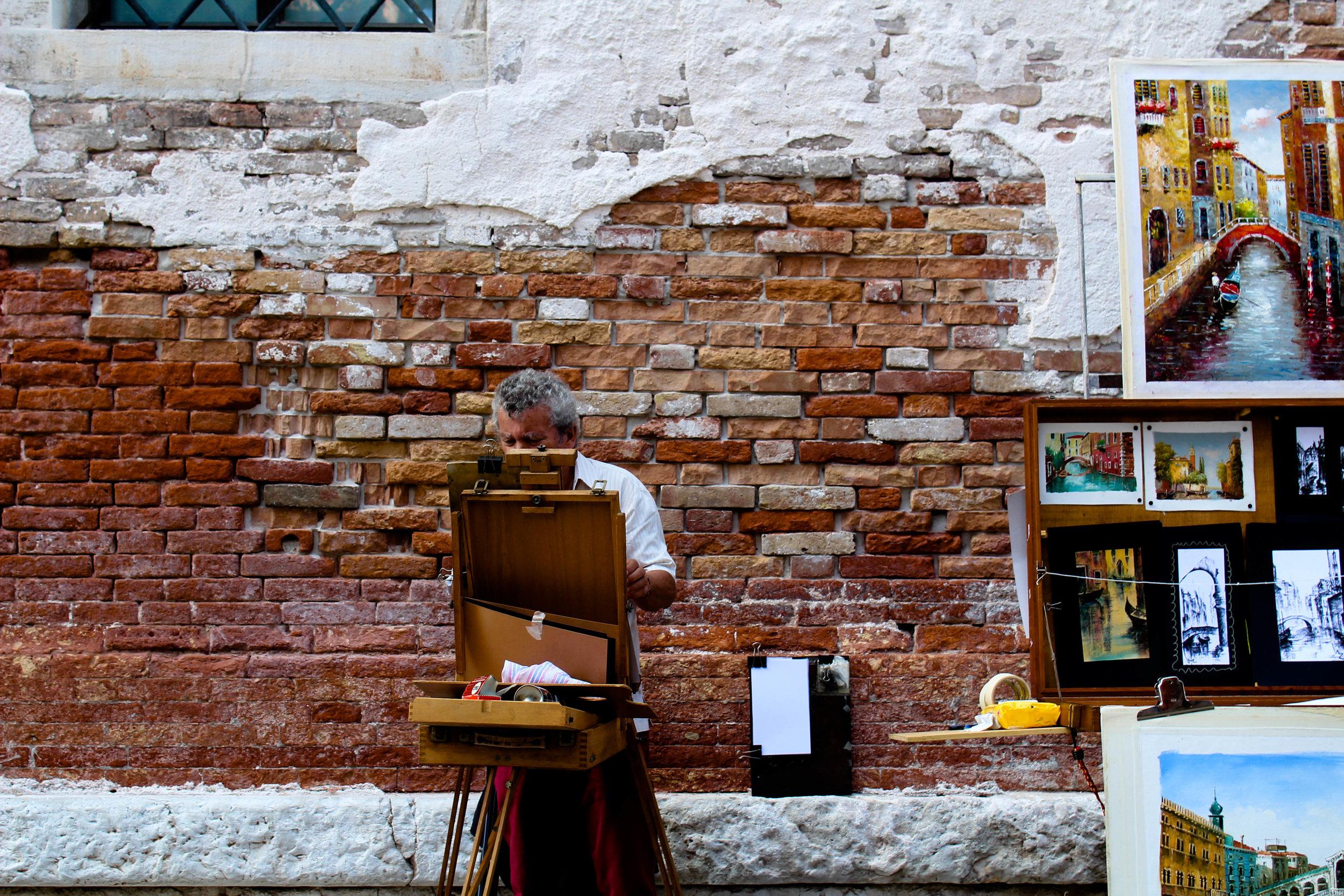 L'artista di Venezia !