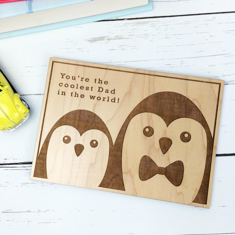 Personalised Wooden Postcard
