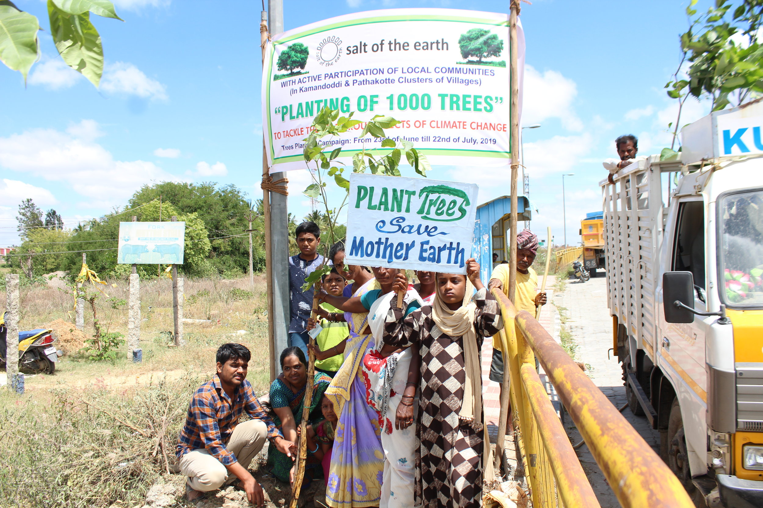 Plantation of trees starting with  Kamandoddi Village  (7).JPG