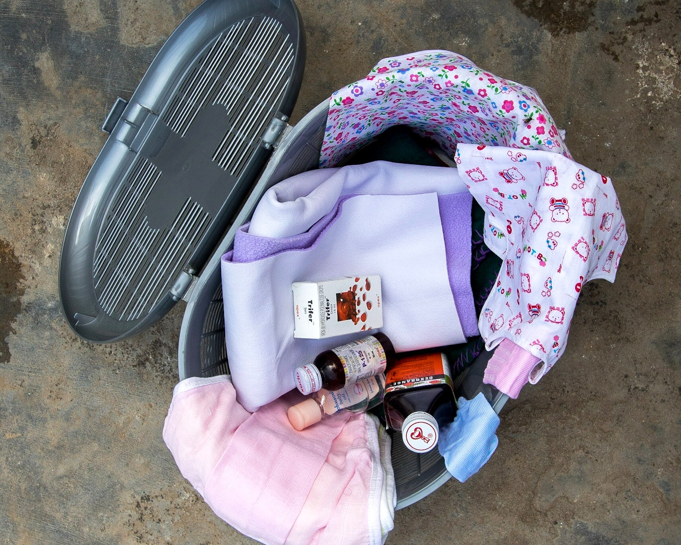 Newborn mother and Baby kit, via Salt of the Earth's ethical gift scheme