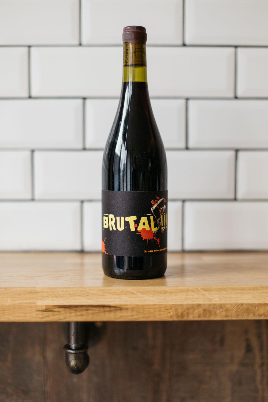 Brutal 2015    Rémi Poujol (Mourvèdre/Carignan)
