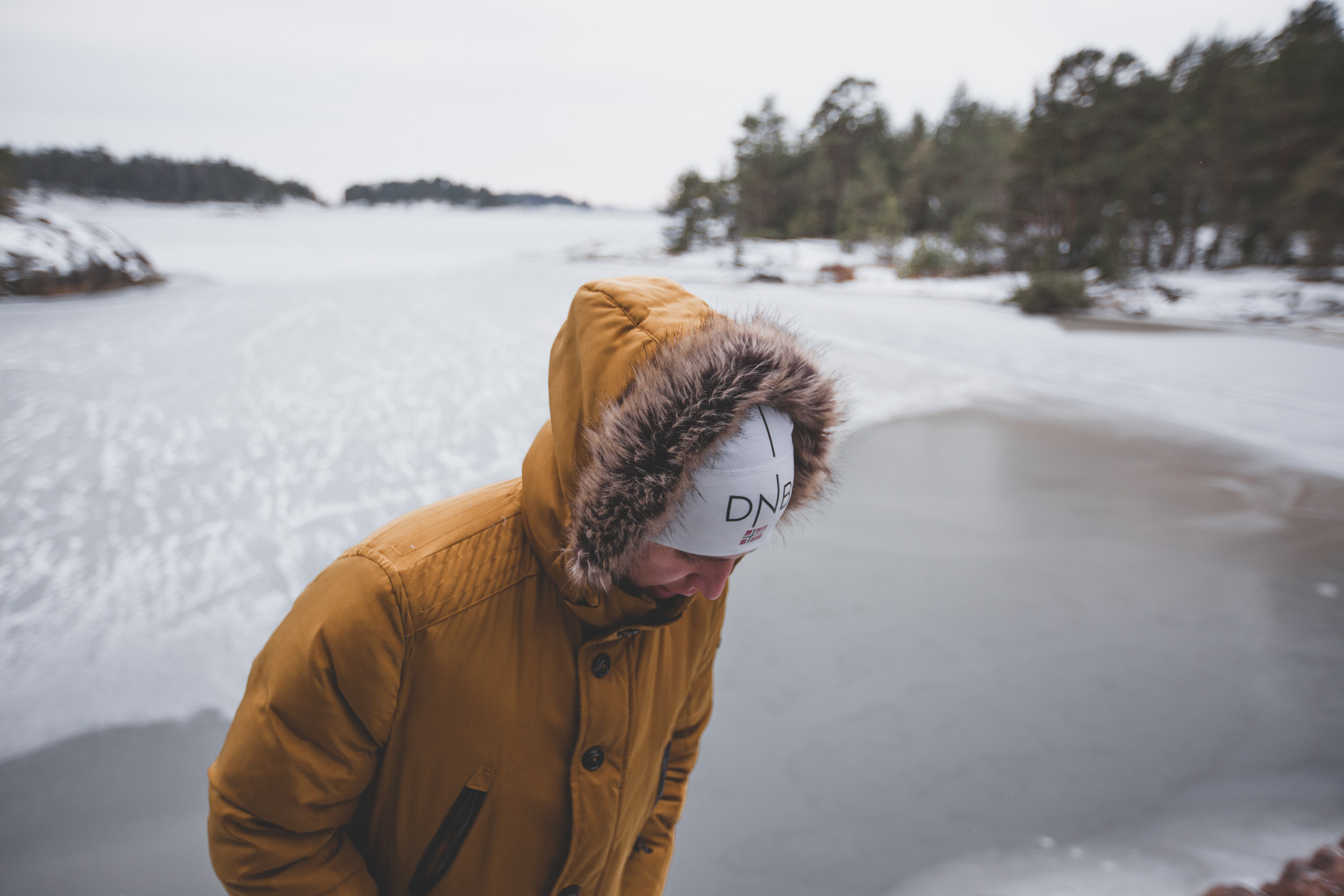 SIMK frozen portrait sweden