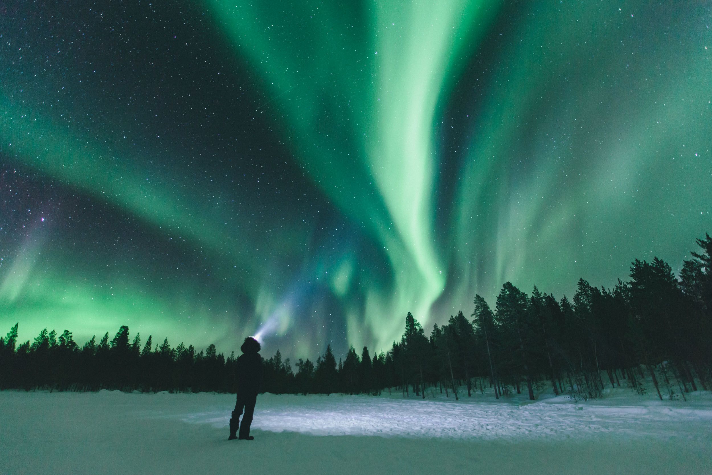 SIMK northern lights finnish lapland david simko