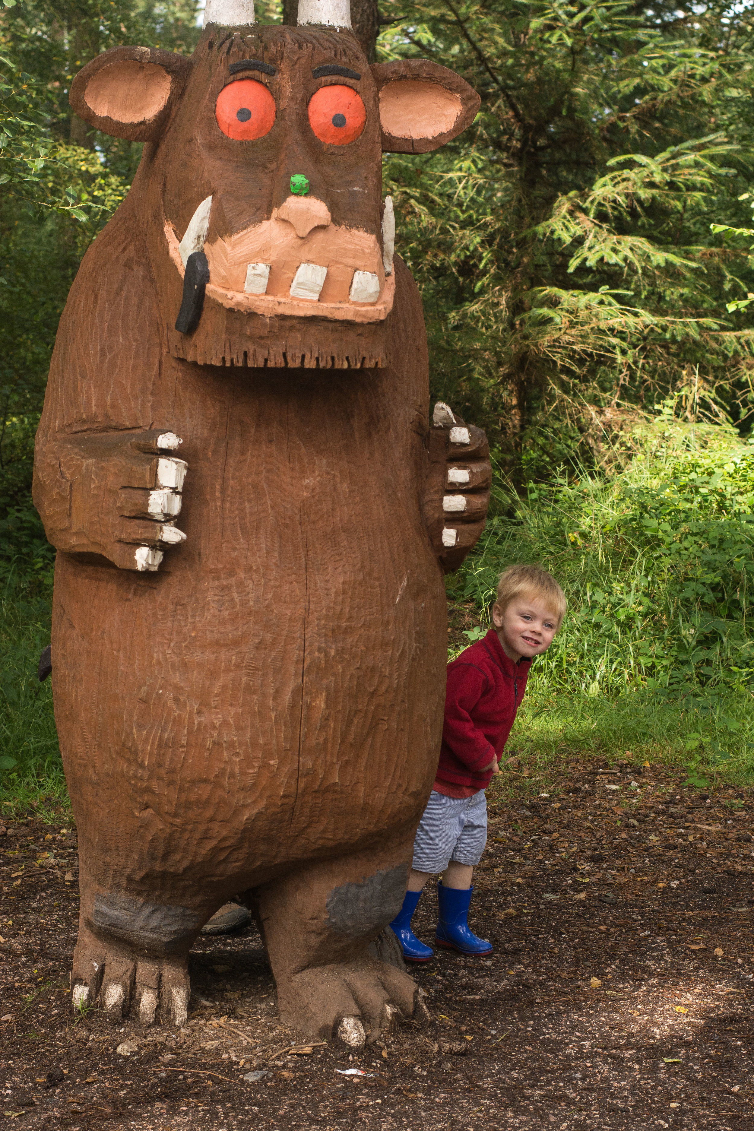 Meeting an old friend at Haldon Forest