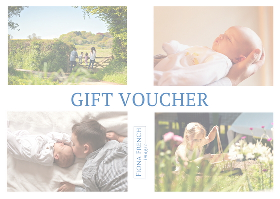 You will receive a real postcard size gift voucher to present