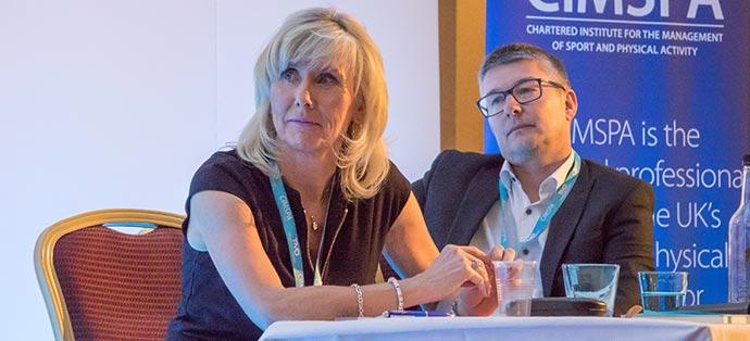 Panel members Jenny Patrickson and Rob Johnson