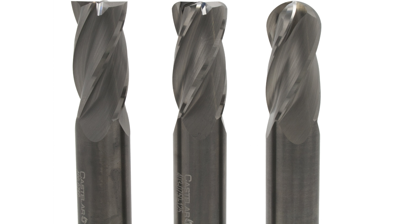 general purpose - 4 Flute End MillDesigned for both roughing and finishing