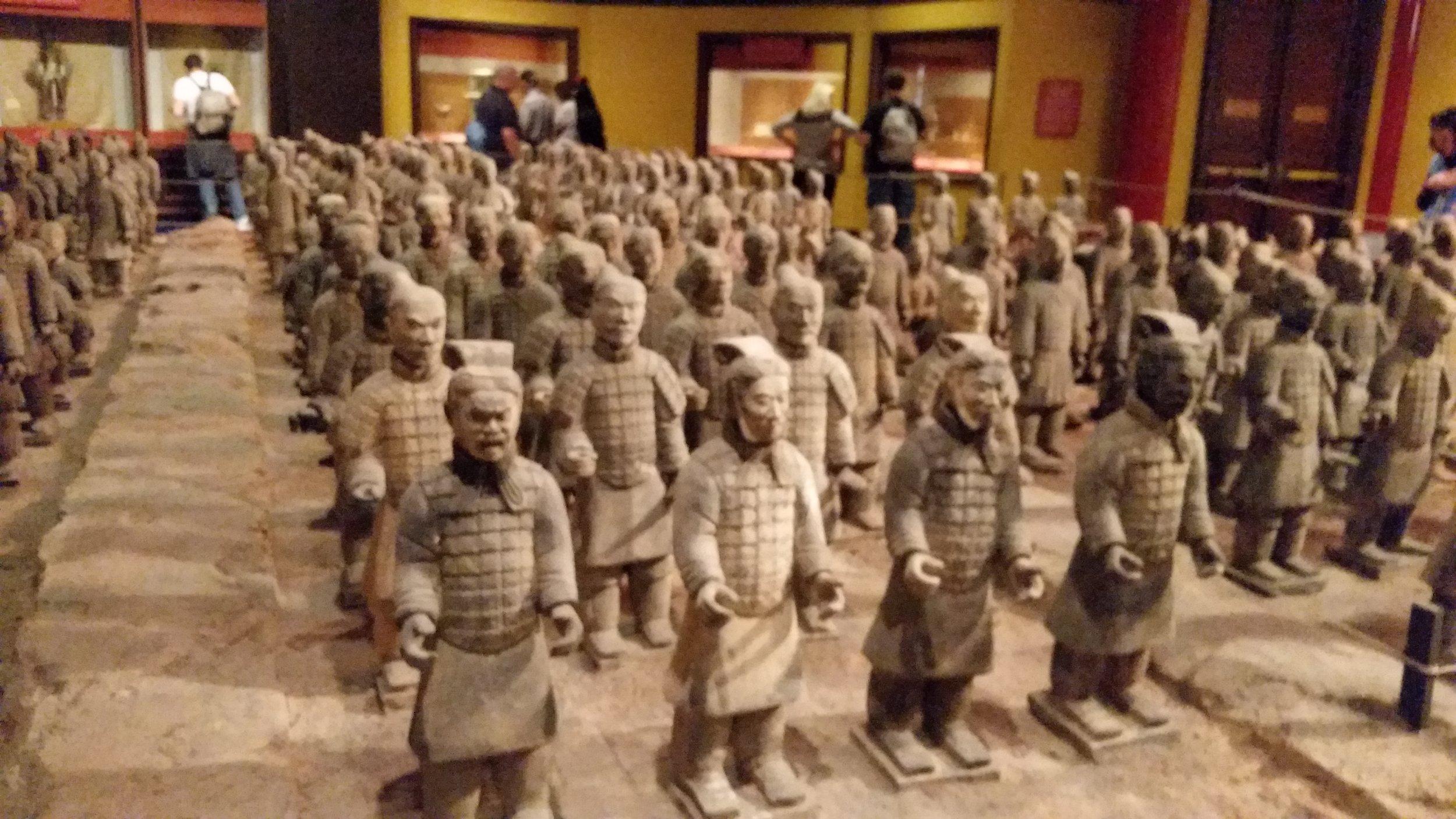 Tomb Warriors, China, World Showcase, EPCOT