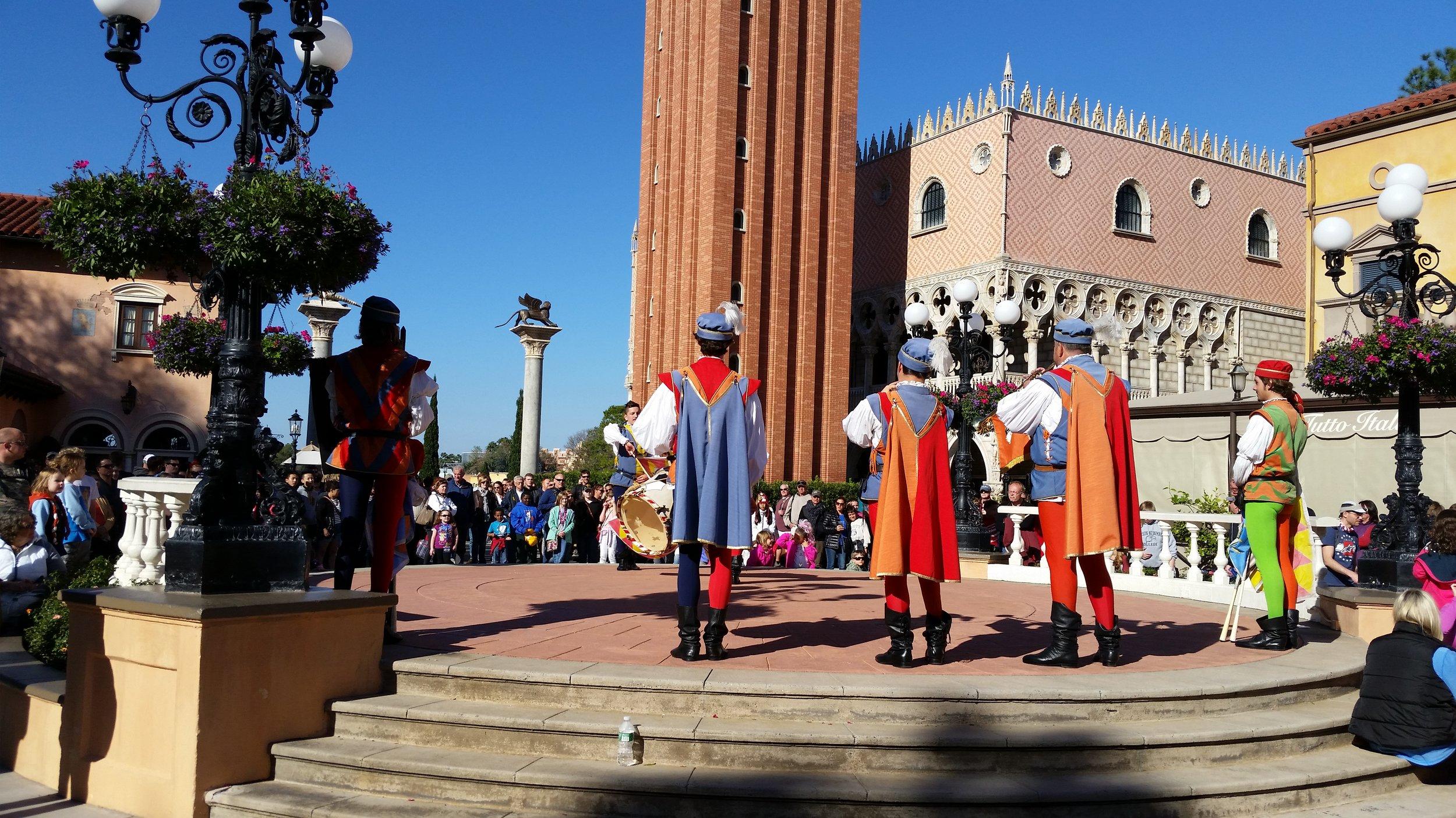 Italy, World Showcase, EPCOT