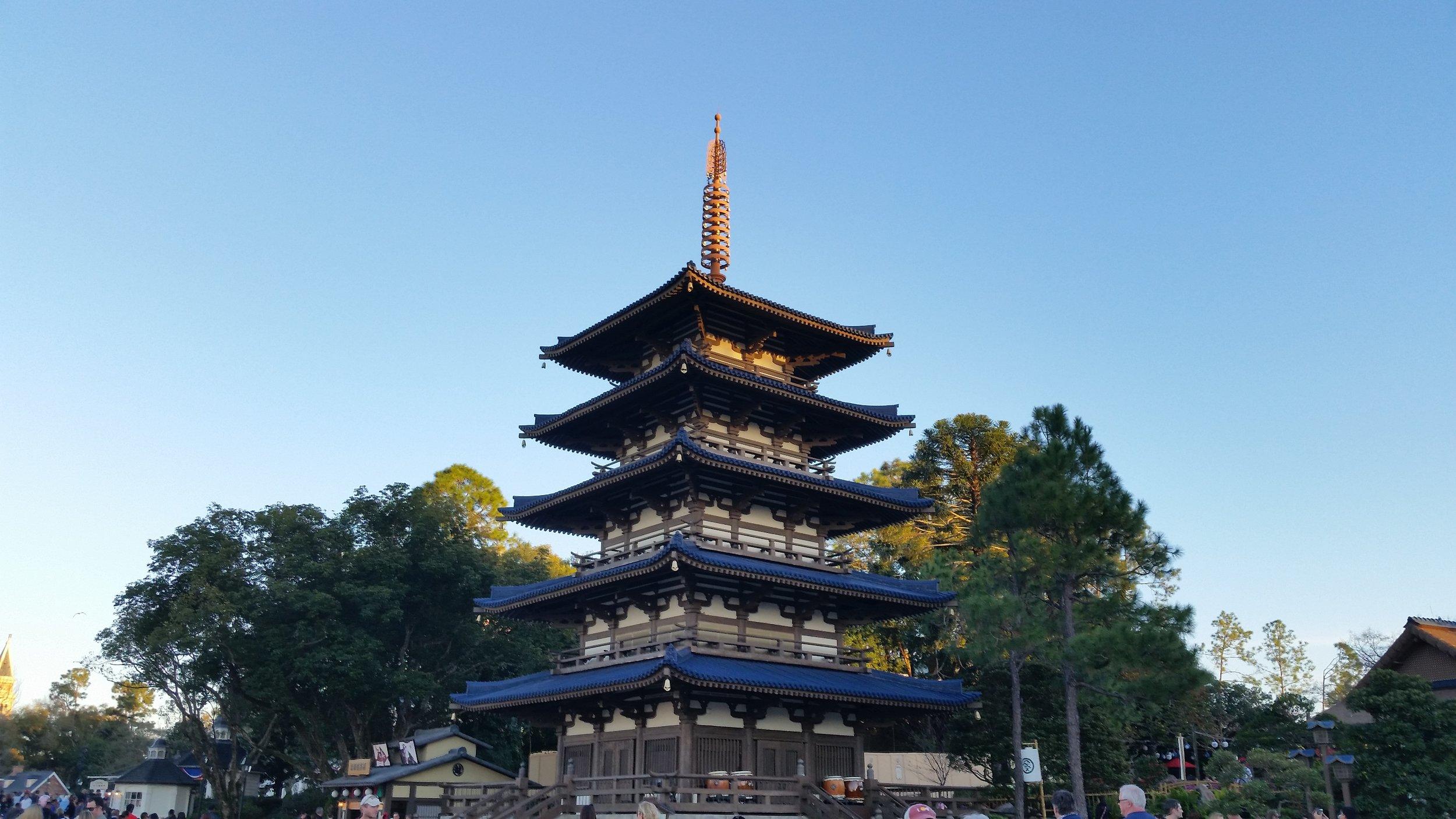 Japan, World Showcase, Epcot