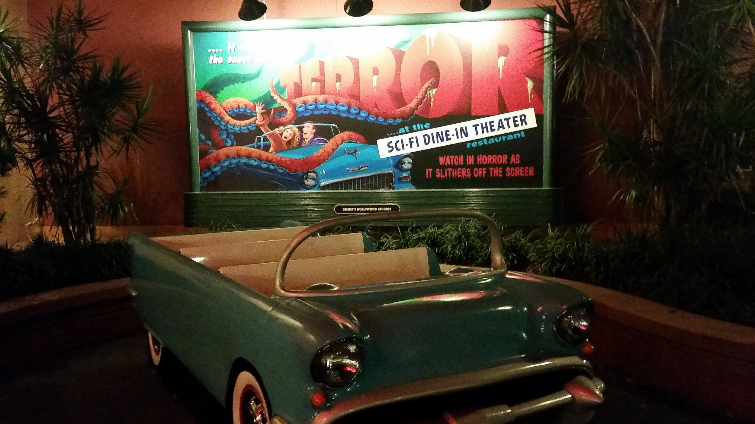 Sci-Fi Dine-In Theater, Commissary Lane, Disney's Hollywood Studios