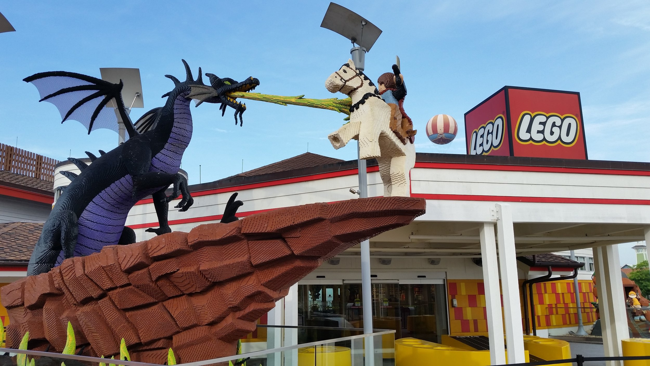 Lego Imagination Center, Marketplace, Disney Springs