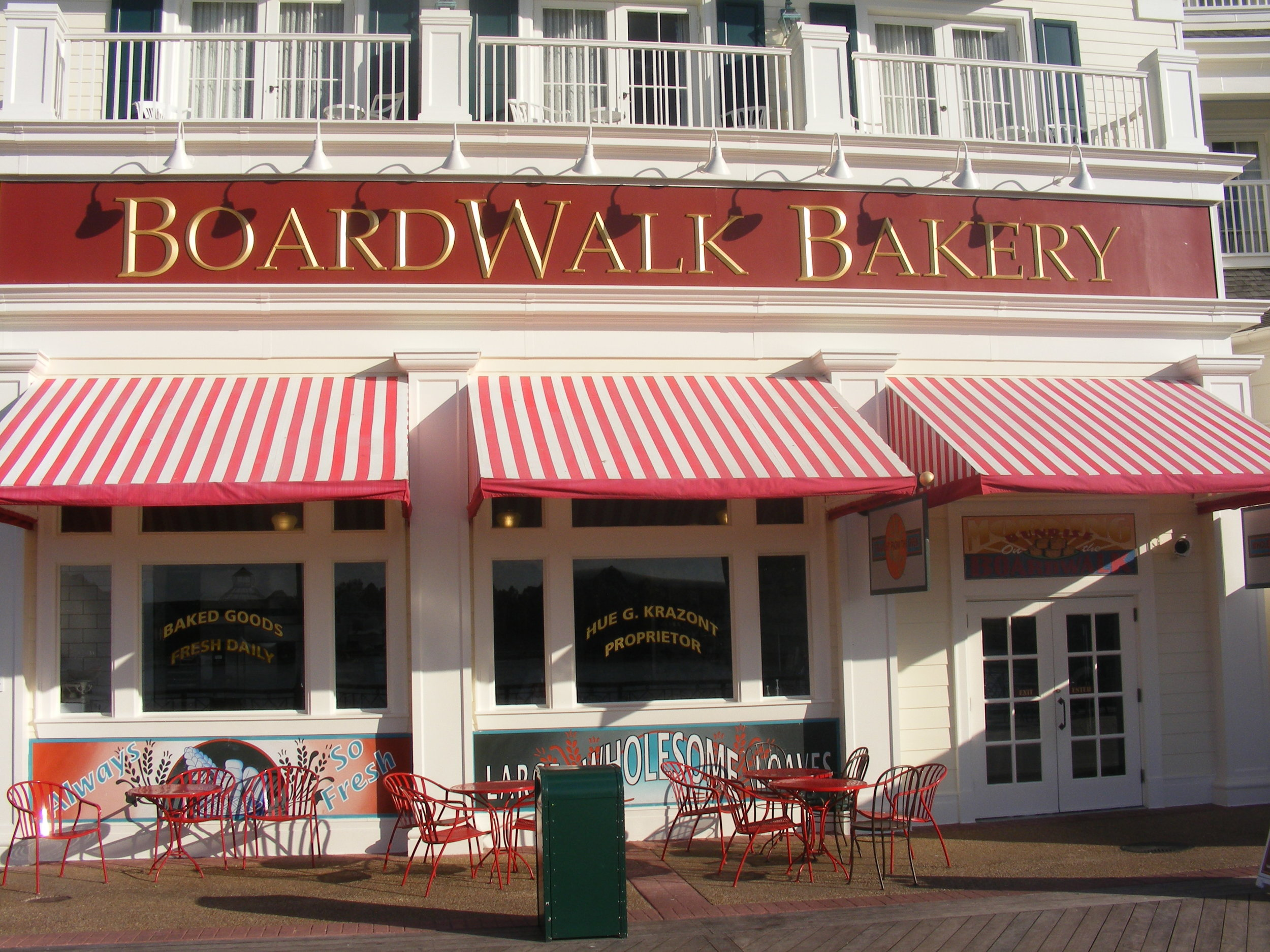 BoardWalk Bakery, Disney's BoardWalk