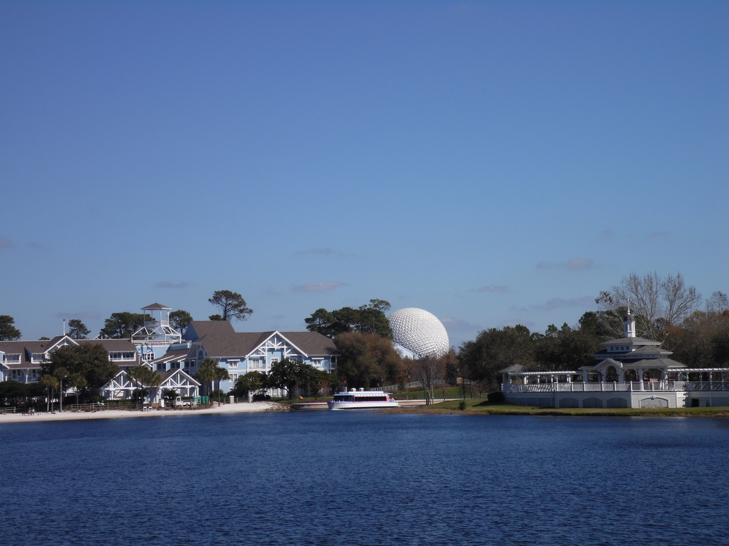 Crescent Lake toward Epcot, Disney's BoardWalk