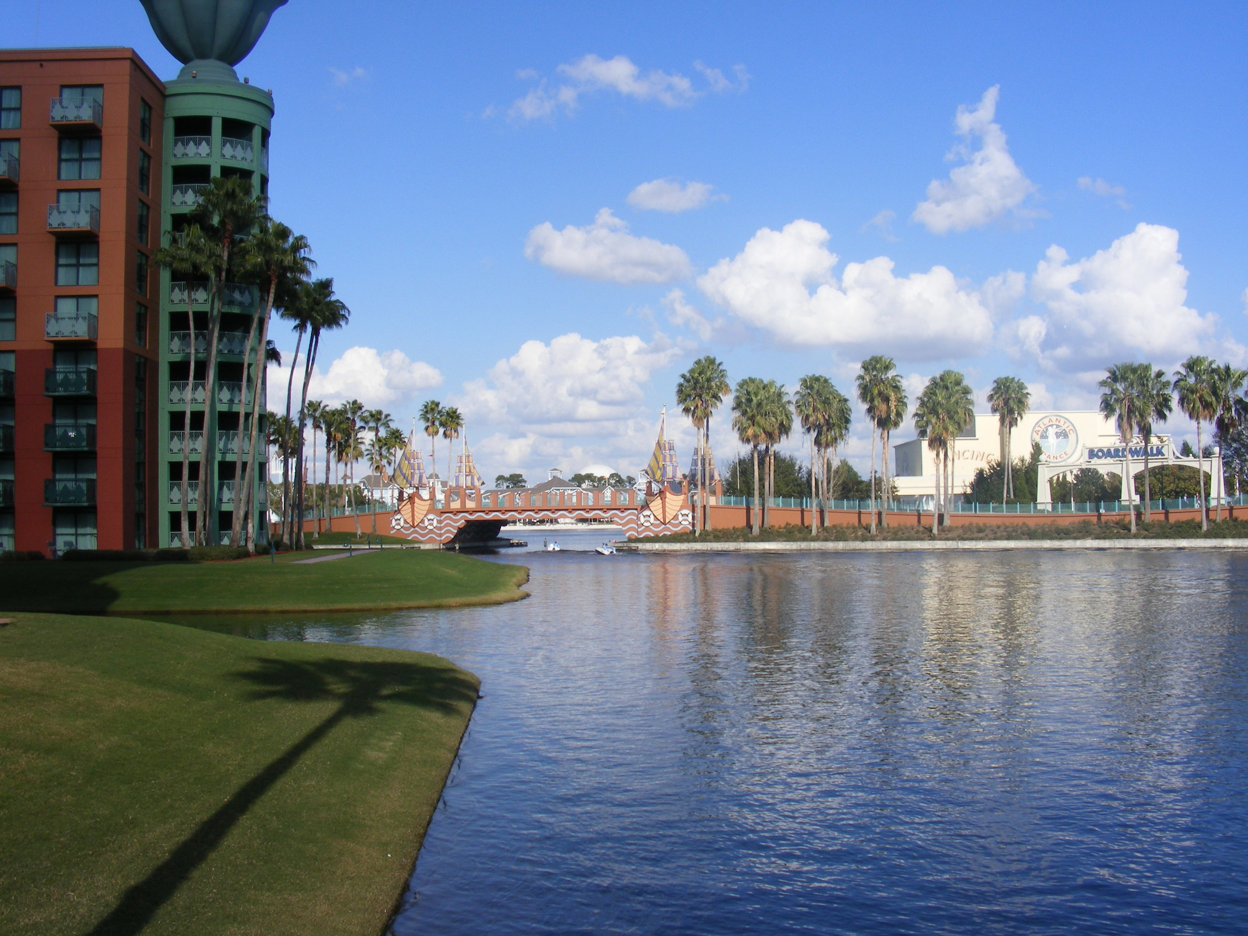 Waterway to Disney's Hollywood Studios, Disney's BoardWalk