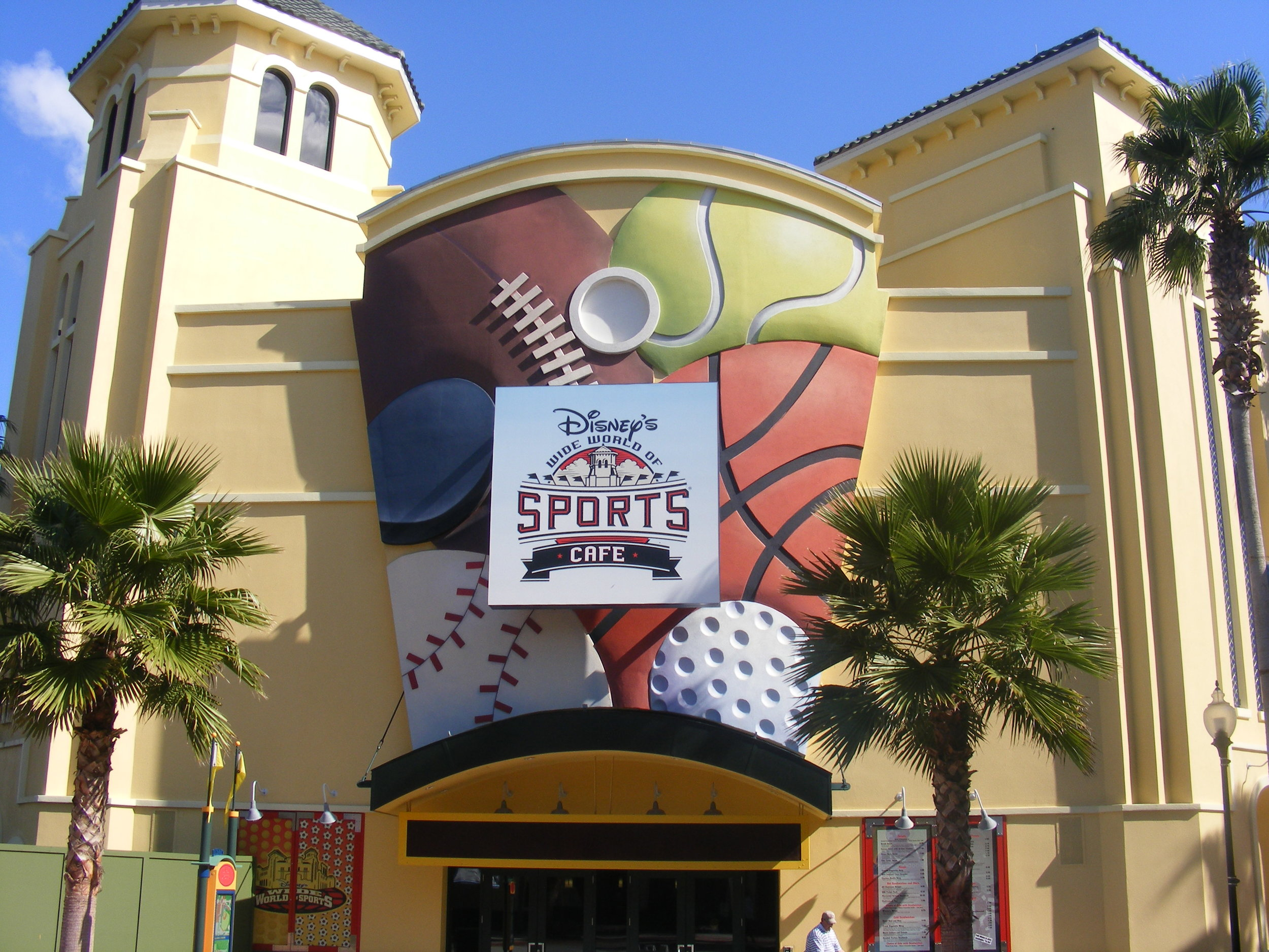 Entrance, Disney's Wide World of Sports Cafe