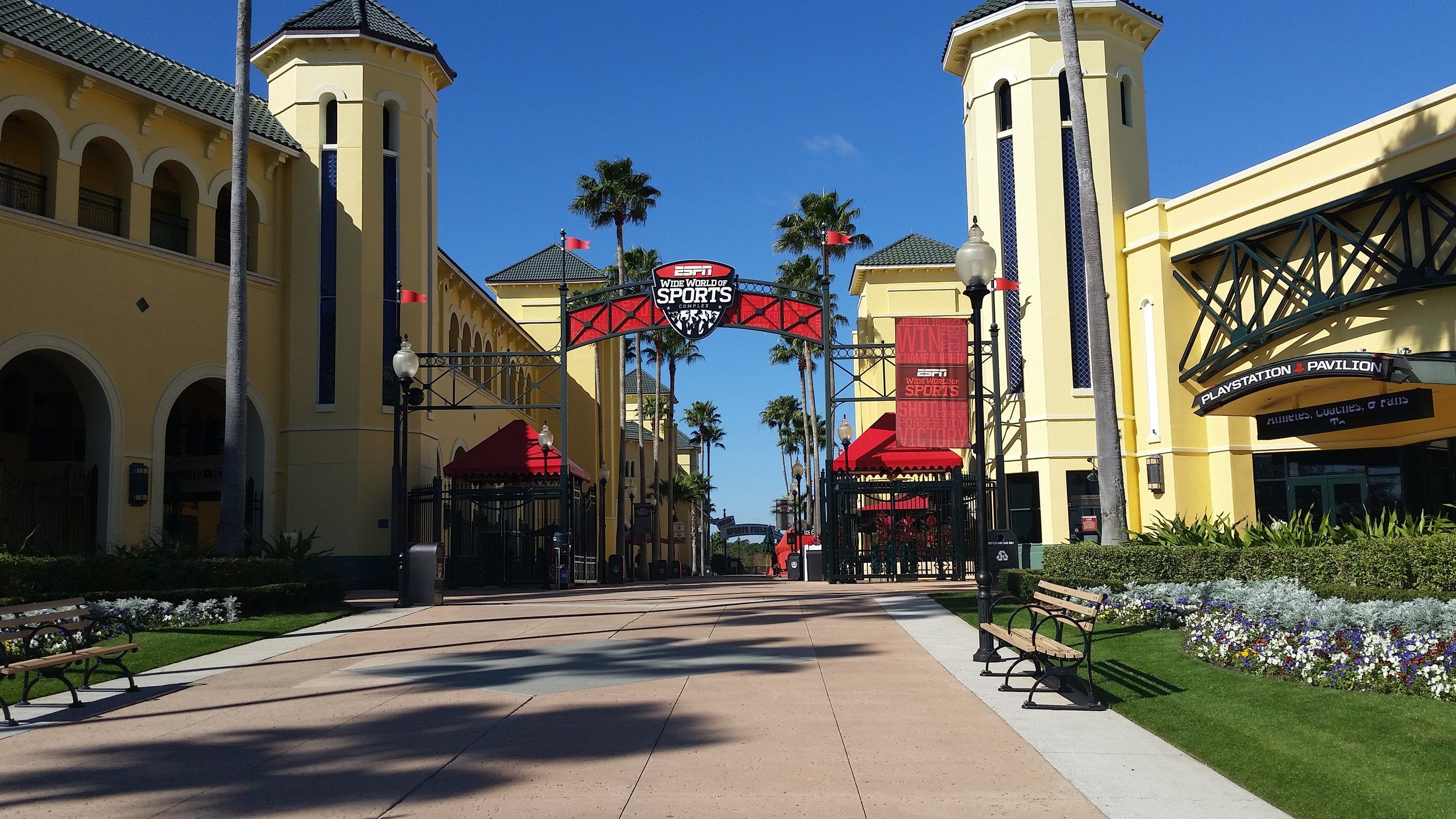 Entrance Promenade, Disney's Wide World of Sports