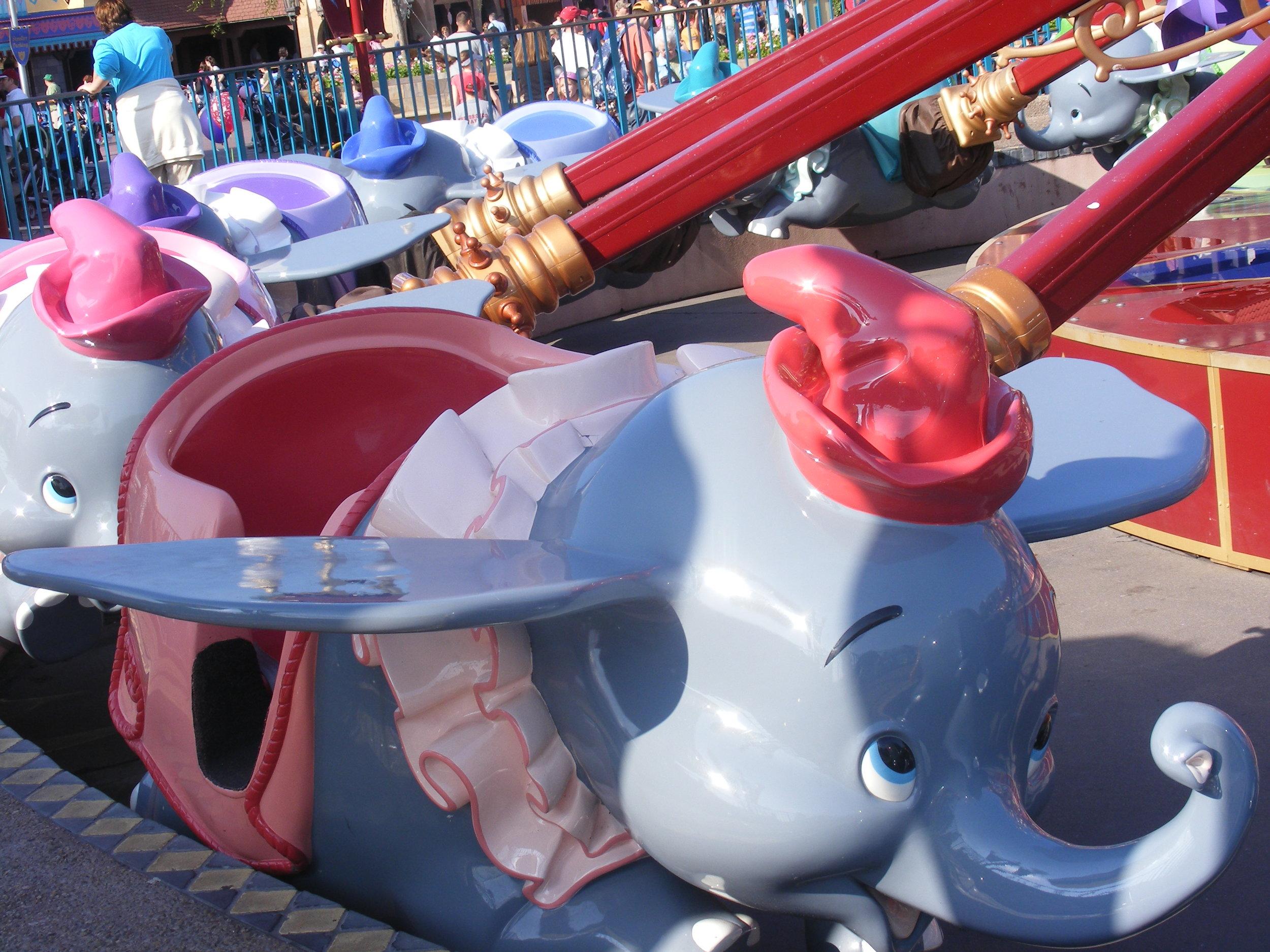 Dumbo The Flying Elephant, Fantasyland, Magic Kingdom
