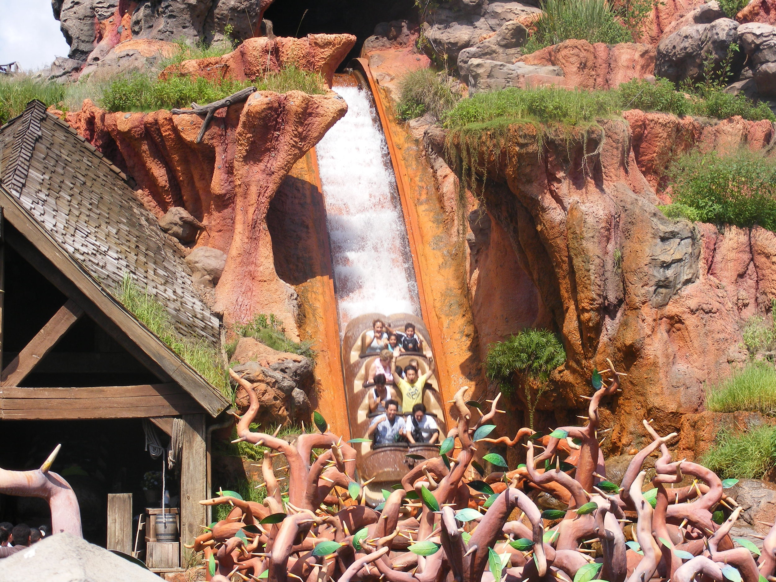 Splash Mountain, Frontierland, Magic Kingdom