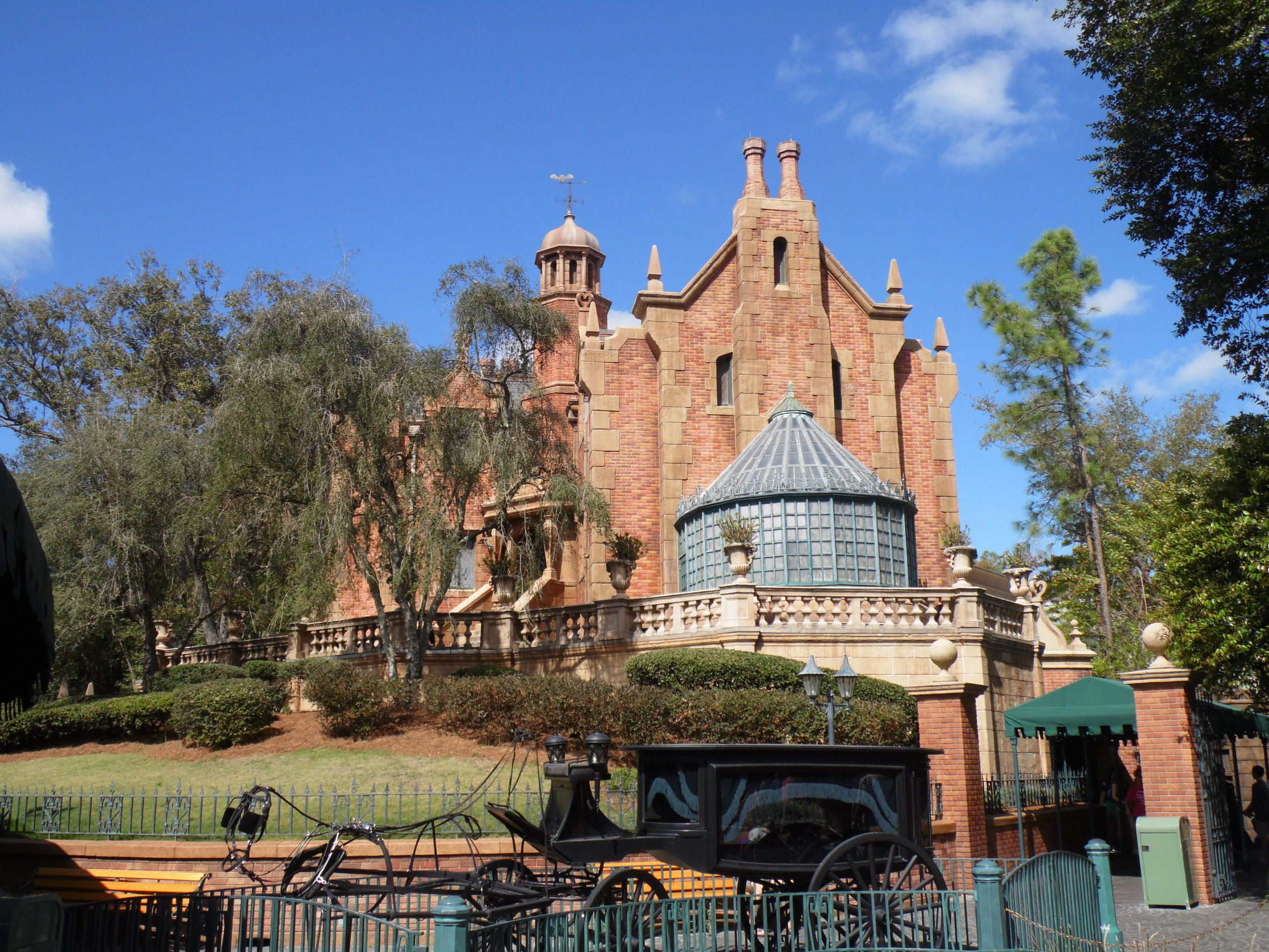 The Haunted Mansion, Liberty Square, Magic Kingdom
