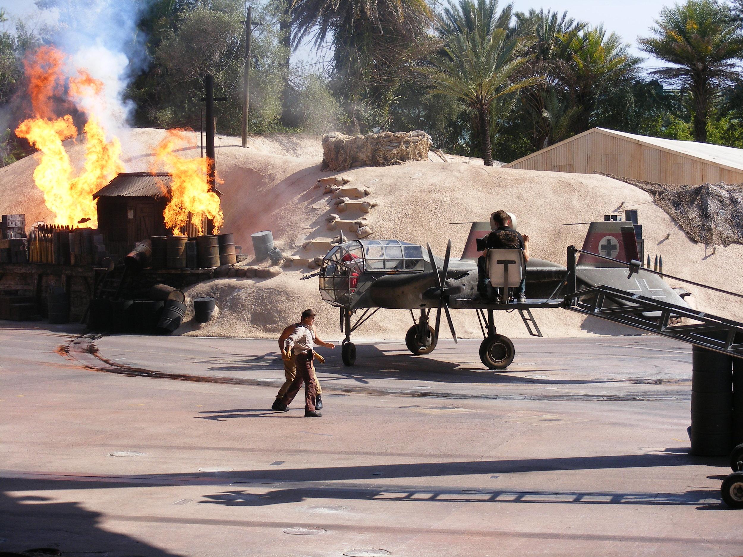 Indiana Jones Epic Stunt Spectacular, Echo Lake, DIsney's Hollywood Studios