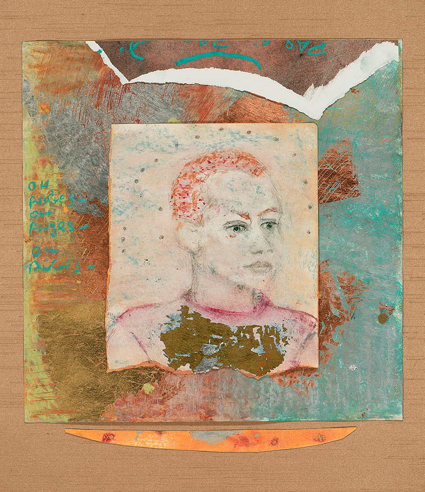 Portrait of Emma Gonzalez as Joan of Arc by Noa Ain