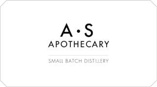 A.S Apothecary Small Batch Distillery Logo