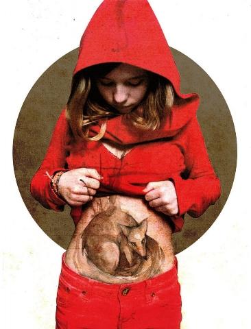 Red Riding Hood by Elia Fernandez