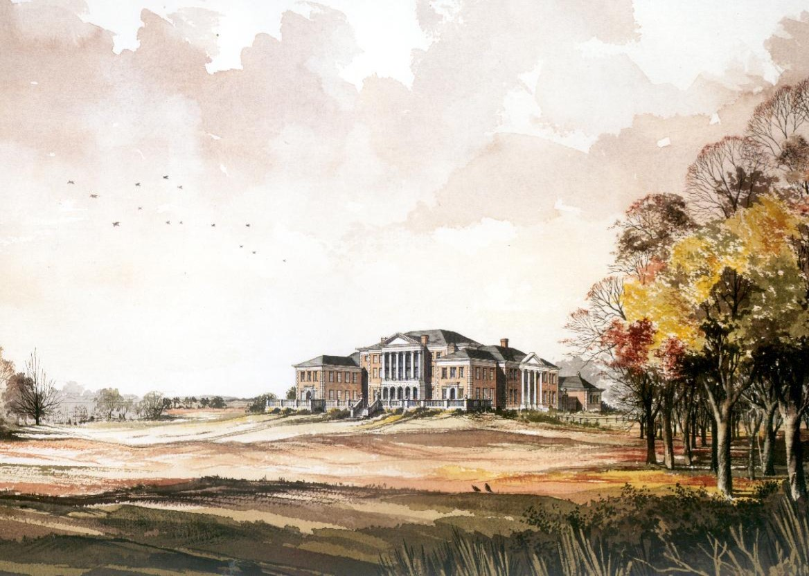Proposal for large country house, c.1990