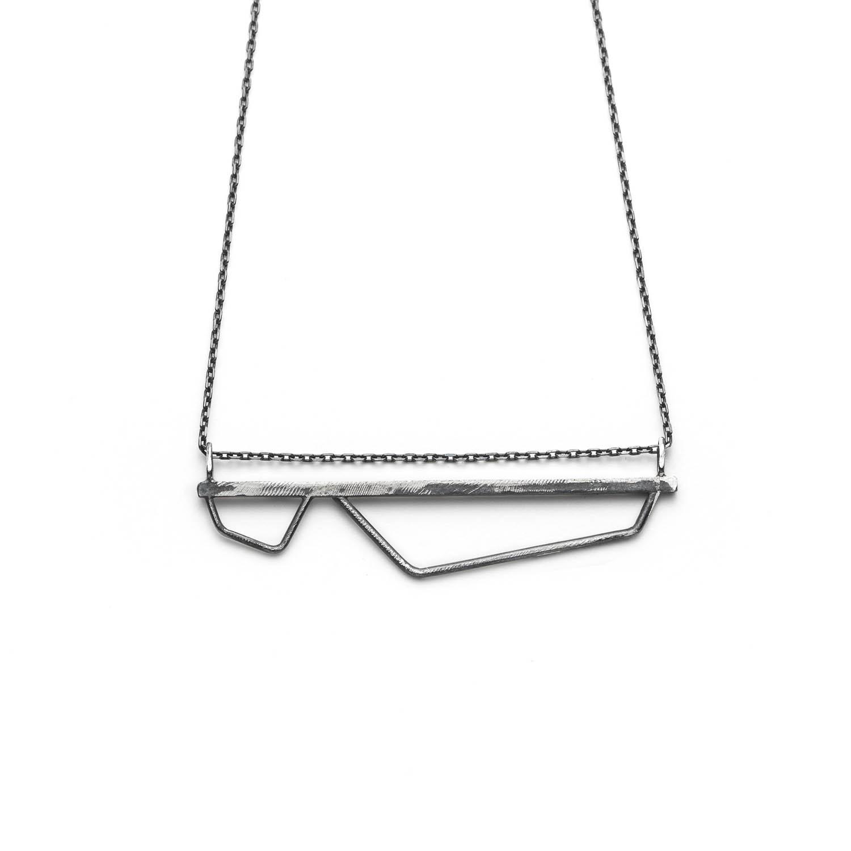 long collier minimaliste