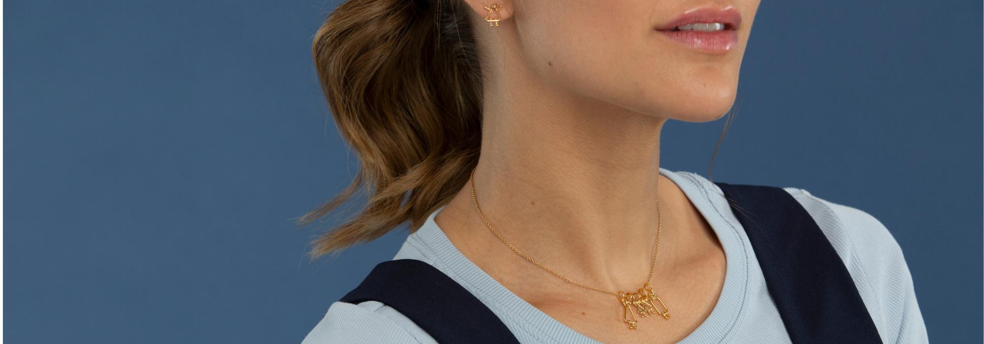 personnalisables - Choisis les breloques qui représentent ta famille. Crée ton bijou porte-bonheur.