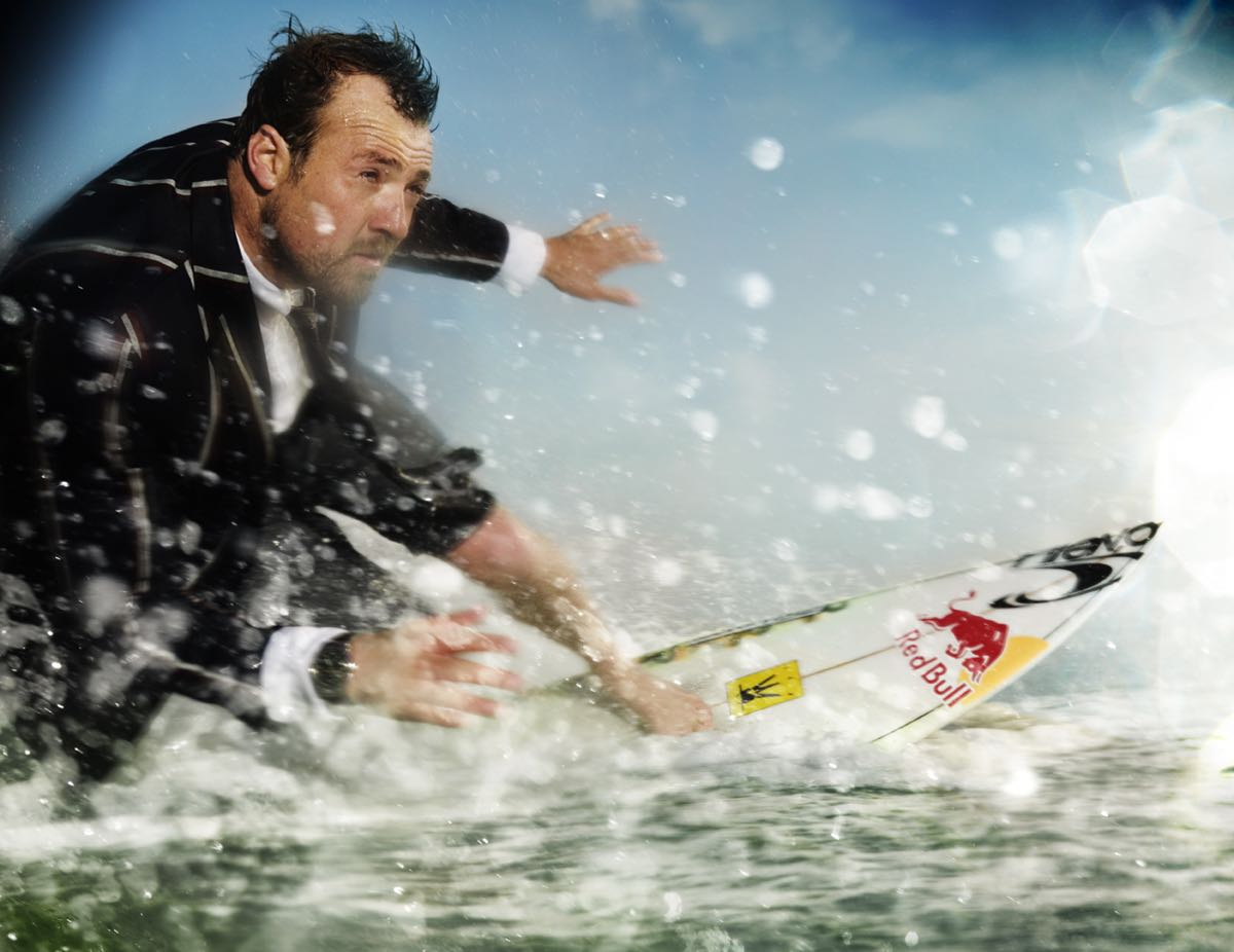 I think the transition from pro surfer to businessman started with this GQ Magazine shoot.