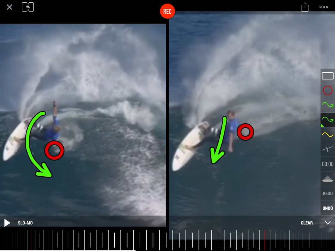One of the best ways to understand where you can improve is to see your own surfing