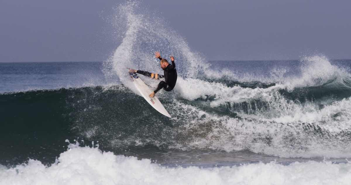 Sam, putting theory into practice earlier this year in Morocco.