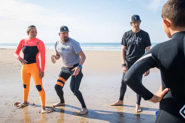 Coaching with Carissa Moore, 3x World Surf Champ.