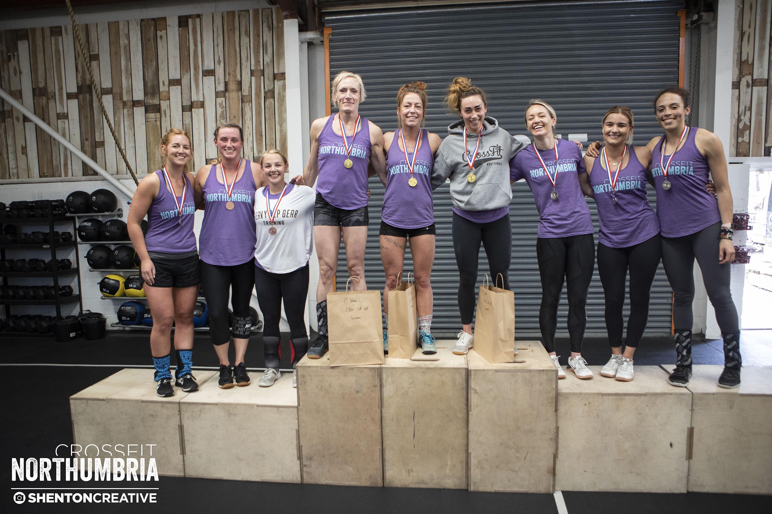 2018 CFN Lift Off - Last years female podium