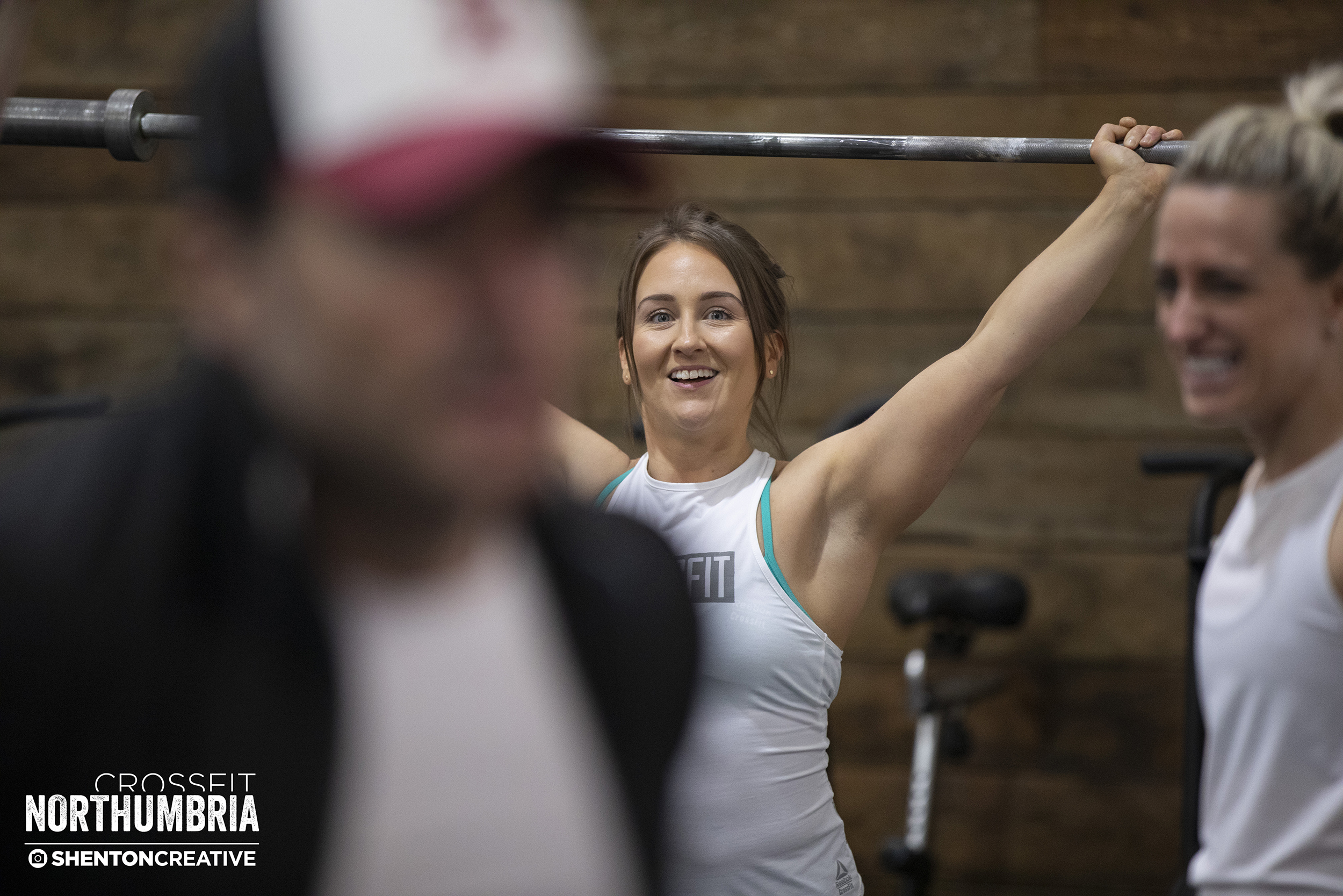 Laura Kay - 3+ year member, warming up for event 2 of the CFN Lift Off