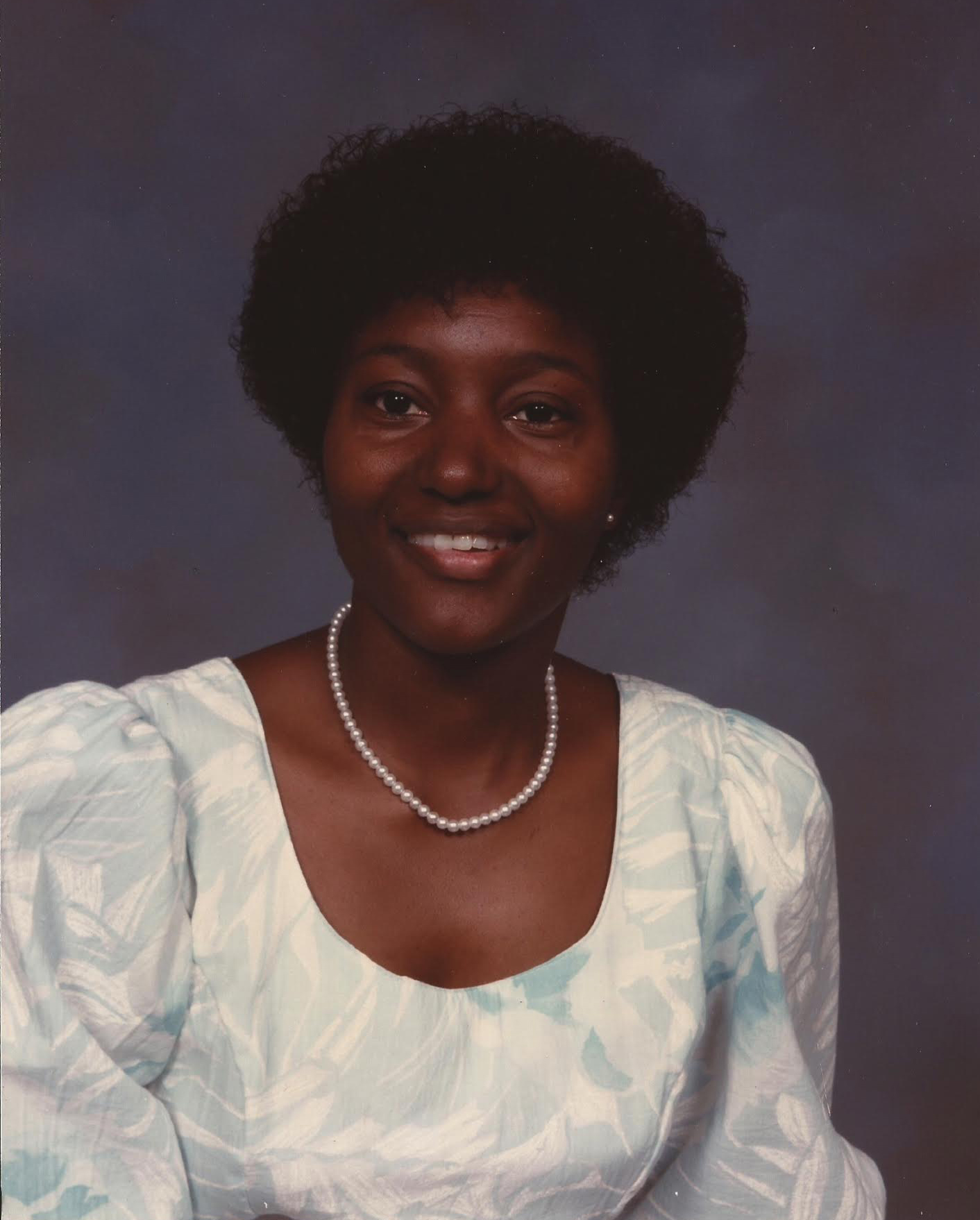 Jo Ann Williams, 1985.
