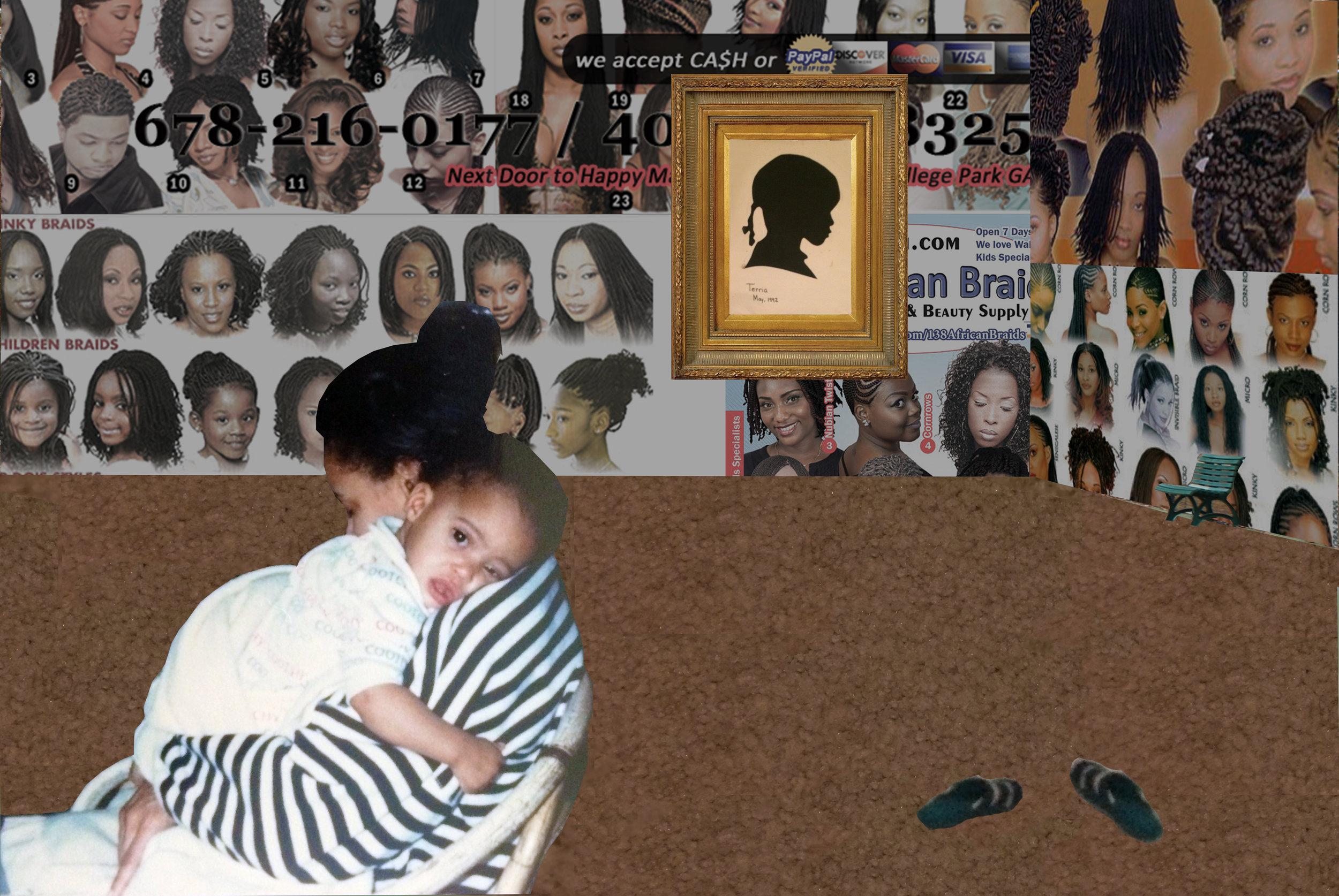 """No Lye,"" Digital collage."