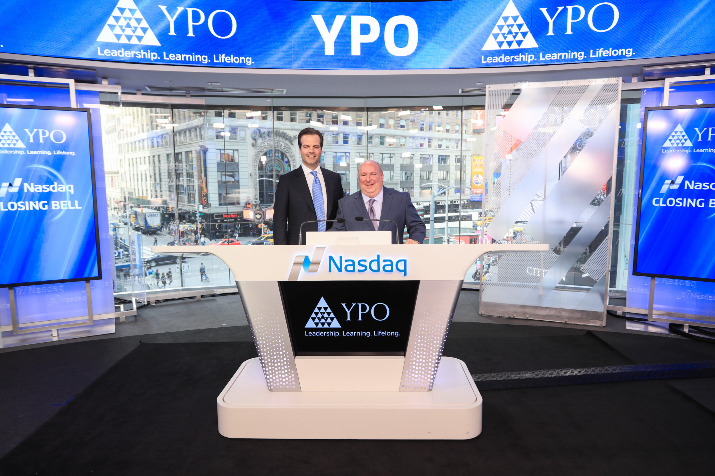 At Nasdaq for YPO Innovation Week 2017, New York