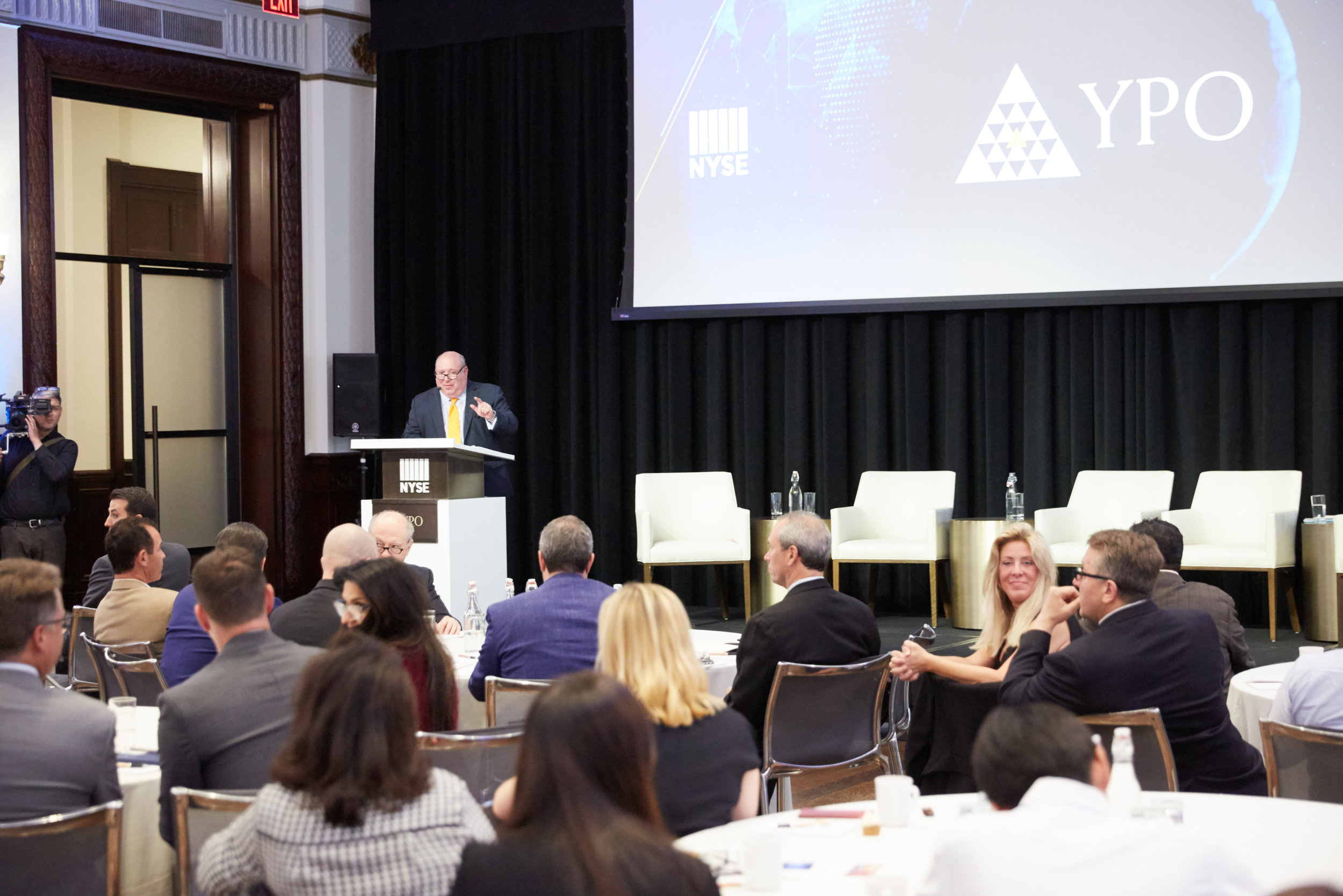 Speaking at YPO Innovation Week 2018, New York