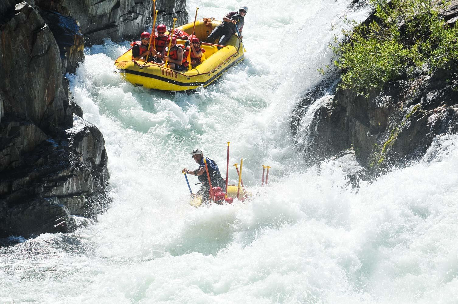 Whitewater Rafting & Kayaking