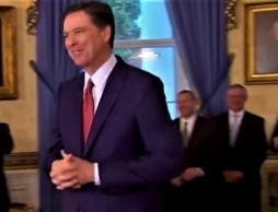 James Comey at Law Enforcement event in January, 2017