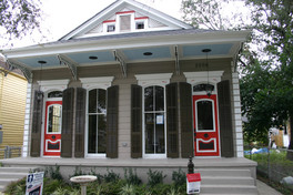 A traditional Double Shotgun House