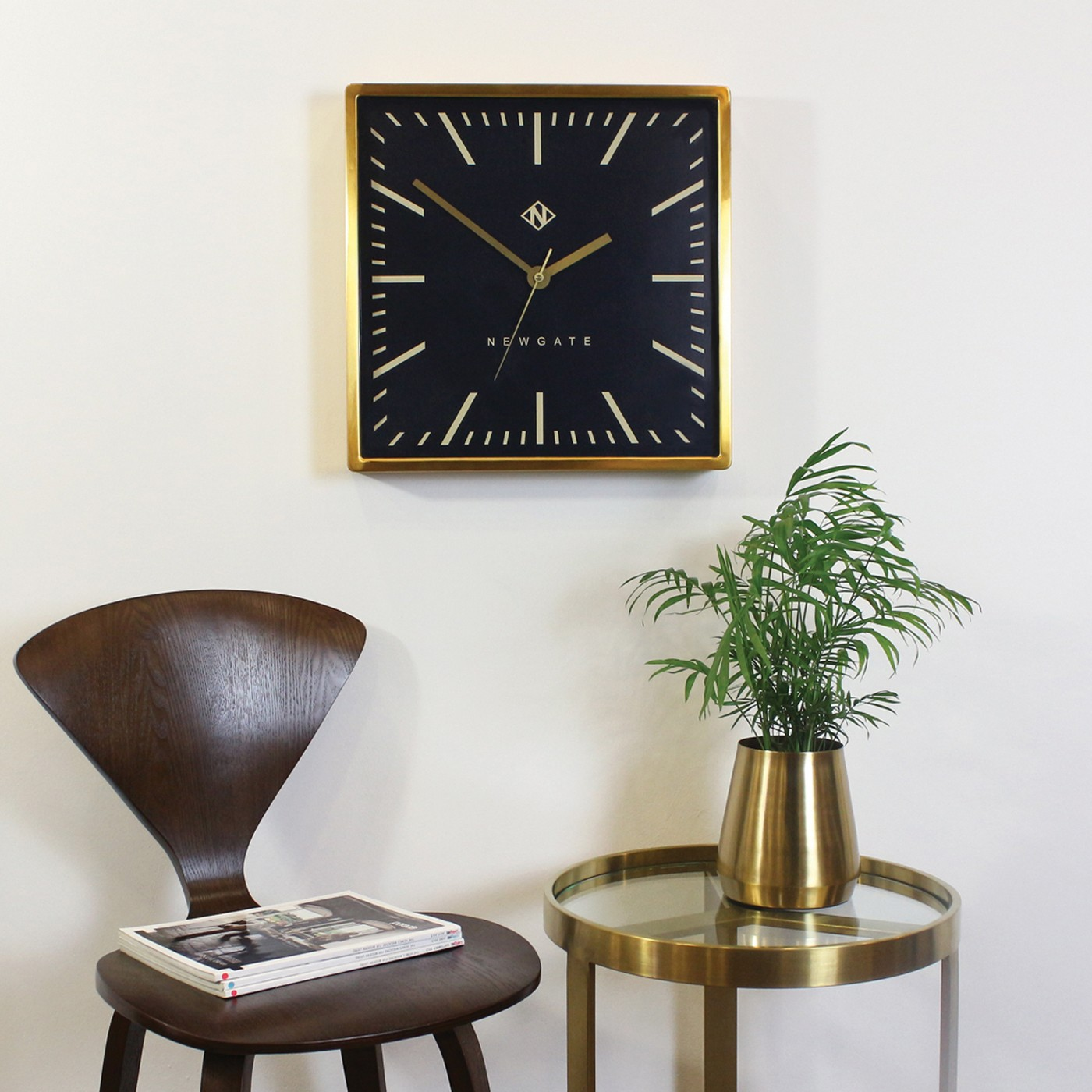 Underpass Wall Clock Brass by Newgate - Introduce a retro design aesthetic into your interior with this delightful wall clock, inspired by iconic underground station clocks.£140 at Heal's
